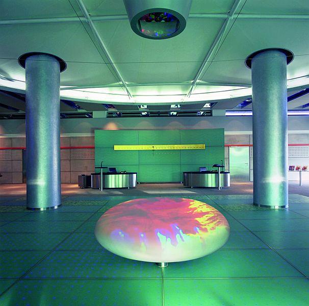 Pardoseli tehnice suprainaltate - Corporate Center Hoechst Frankfurt - Germania MERO - Poza 6