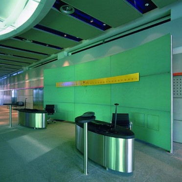 Pardoseli tehnice suprainaltate - Corporate Center Hoechst Frankfurt - Germania MERO - Poza 7