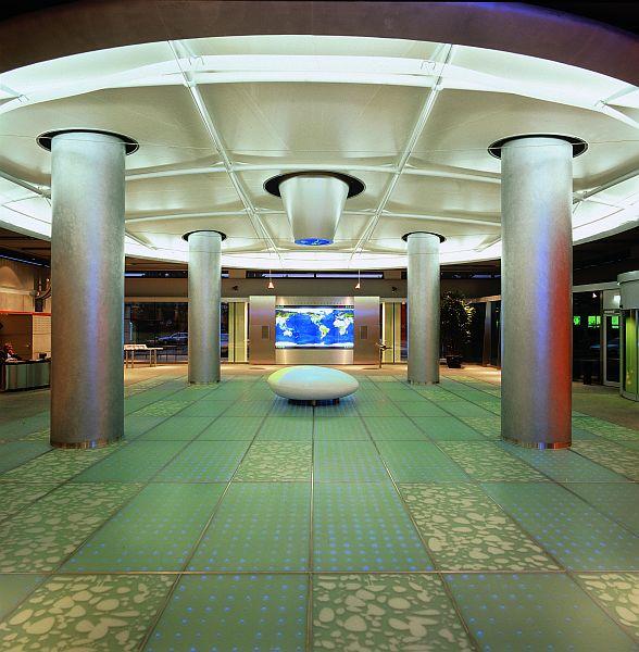 Pardoseli tehnice suprainaltate - Corporate Center Hoechst Frankfurt - Germania MERO - Poza 4