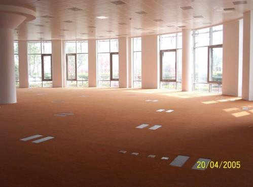 Pardoseli tehnice suprainaltate - Fortune Plaza Shanghai - China MERO - Poza 3