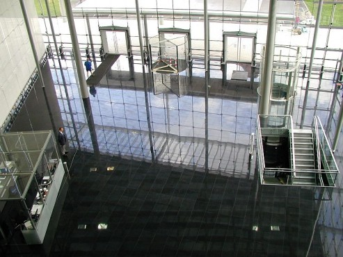Pardoseli tehnice suprainaltate - Headquarter of Bayer Leverkusen Chicago IL - USA MERO - Poza 11