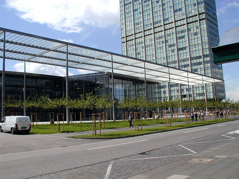 Pardoseli tehnice suprainaltate - Headquarter of Bayer Leverkusen Chicago IL - USA MERO - Poza 4