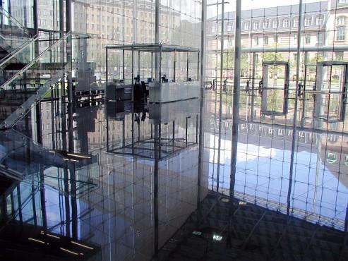 Pardoseli tehnice suprainaltate - Headquarter of Bayer Leverkusen Chicago IL - USA MERO - Poza 3