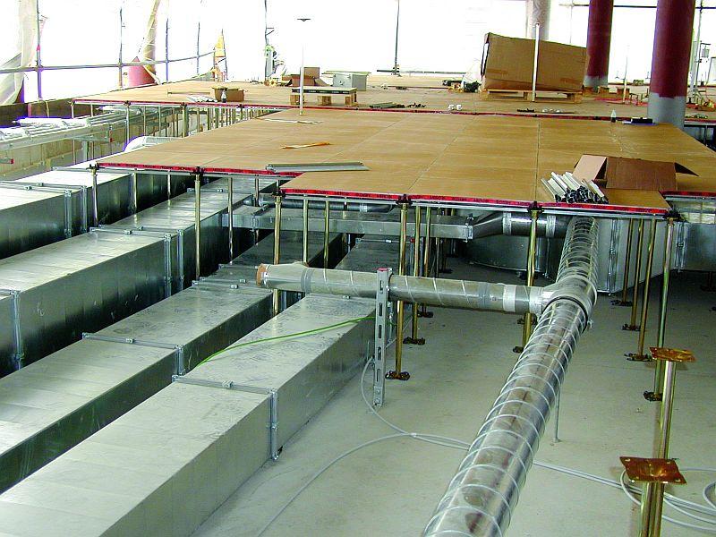 Pardoseli tehnice suprainaltate - Headquarter of Bayer Leverkusen Chicago IL - USA MERO - Poza 8