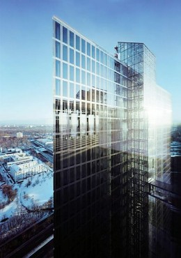 Pardoseli tehnice suprainaltate - Highlight Towers Munich - Germania MERO - Poza 2