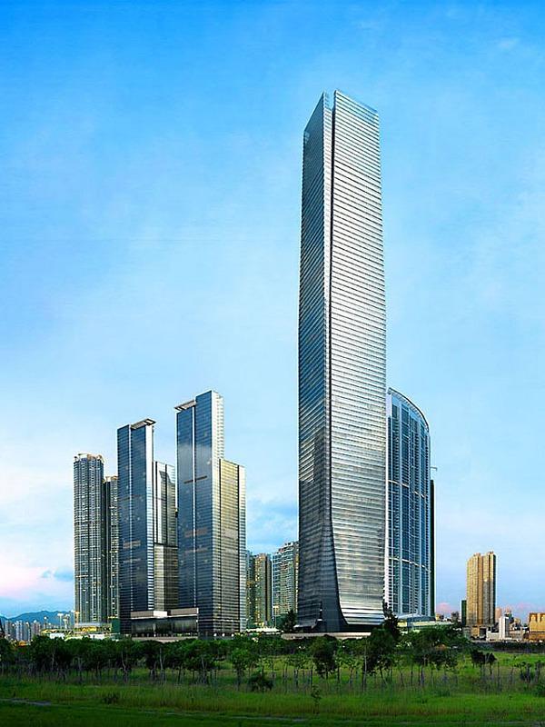 Pardoseli tehnice suprainaltate - ICC Tower - Hong-kong MERO - Poza 3