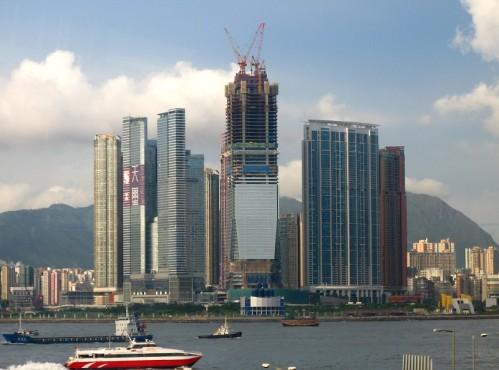 Pardoseli tehnice suprainaltate - ICC Tower - Hong-kong MERO - Poza 2