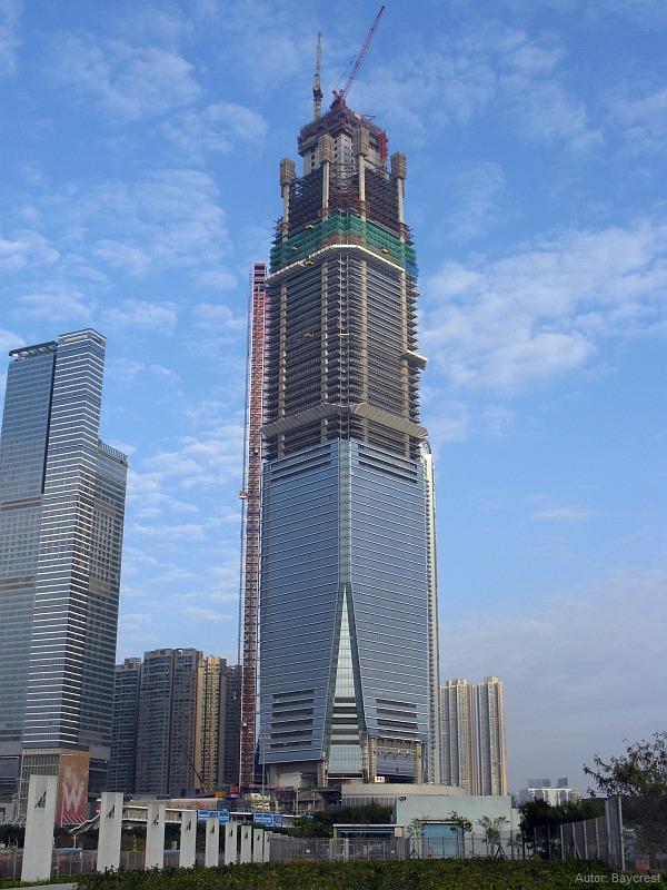Pardoseli tehnice suprainaltate - ICC Tower - Hong-kong MERO - Poza 5