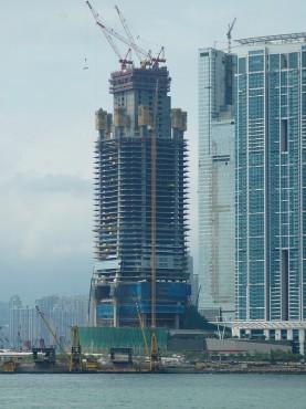 Pardoseli tehnice suprainaltate - ICC Tower - Hong-kong MERO - Poza 1