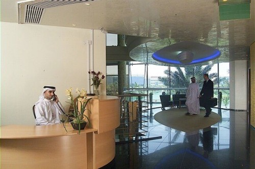 Pardoseli tehnice suprainaltate - Internet City - Dubai MERO - Poza 1