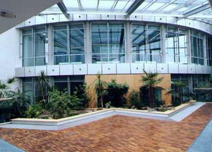Pardoseli tehnice suprainaltate - MDR Radio Centre Halle - Germania MERO - Poza 2