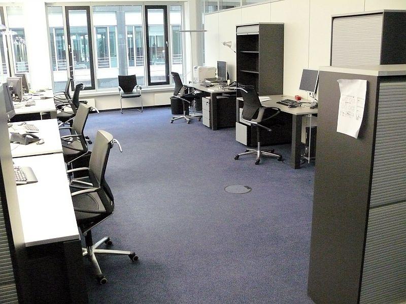 Pardoseli tehnice suprainaltate - Office Park Taunus Eschhborn - Germania MERO - Poza 3