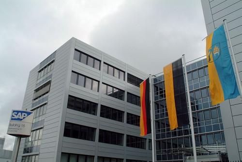 Pardoseli tehnice suprainaltate - SAP St. Leon-Rot - Germania MERO - Poza 6