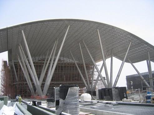 Pardoseli tehnice suprainaltate - Science&Technology Park Qatar Doha - Qatar MERO - Poza 3