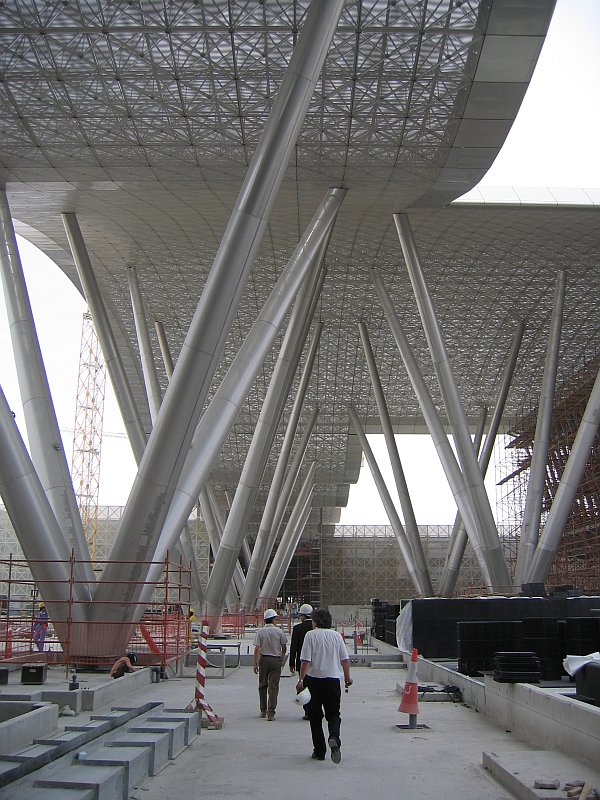 Pardoseli tehnice suprainaltate - Science&Technology Park Qatar Doha - Qatar MERO - Poza 4