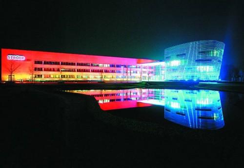 Pardoseli tehnice suprainaltate - Stroer Cologne - Germania MERO - Poza 4