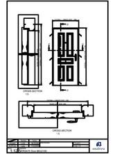 Usa metalice de intrare (rezidentiala) - 960x2100 ANDREU