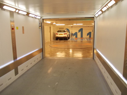 Ascensor pentru autoturisme - Cladire de birouri - Israel /  Ascensor pentru autoturisme