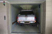 Ascensoare auto Ascensoarele auto Elmas asigura accesul rapid din strada la spatiile de parcare aflate la diferite niveluri ale cladirii, fara existenta rampelor de acces.