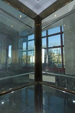 Lucrari, proiecte Ascensor panoramic - Cladire de birouri - BRASOV ELMAS - Poza 2