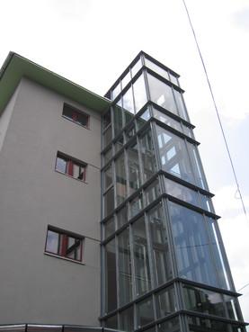 Lucrari, proiecte Ascensor panoramic - Clinica Medicala - BRASOV ELMAS - Poza 2