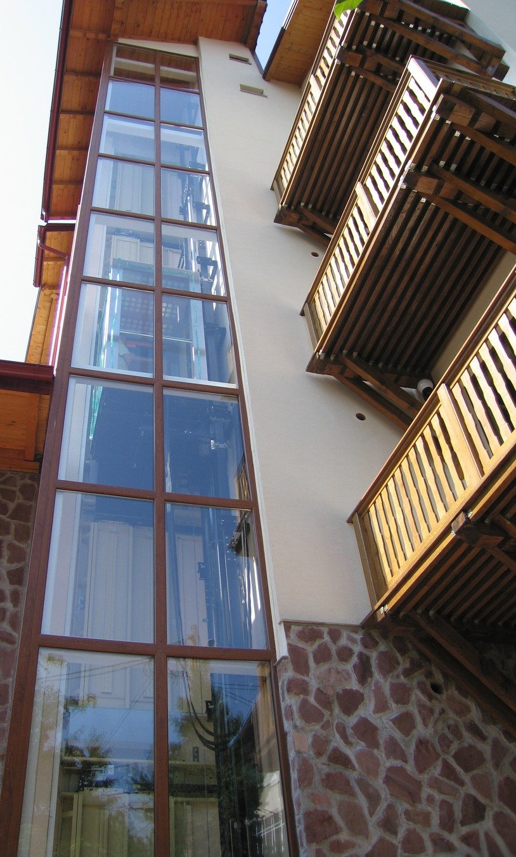 Lucrari, proiecte Ascensor panoramic - Hotel - BRASOV ELMAS - Poza 1