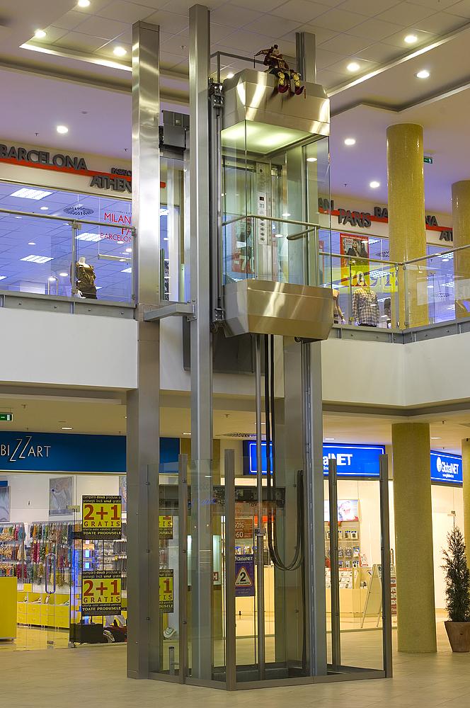 Ascensor panoramic - Mall - BRASOV ELMAS - Poza 2