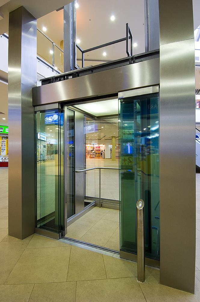 Ascensor panoramic - Mall - BRASOV ELMAS - Poza 3