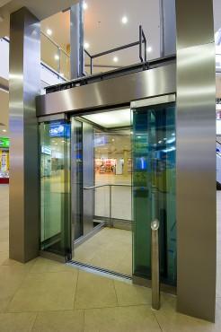 Lucrari, proiecte Ascensor panoramic - Mall - BRASOV ELMAS - Poza 3