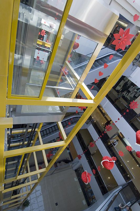 Ascensor panoramic - Mall - TG. MURES ELMAS - Poza 2