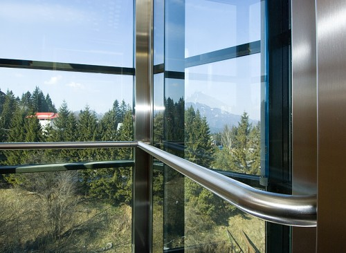 Lucrari, proiecte Ascensor panoramic - Hotel PREDEAL ELMAS - Poza 1