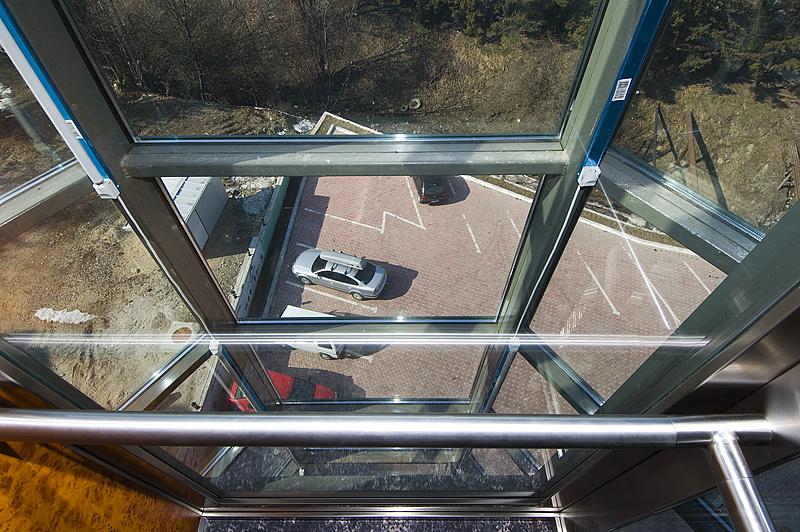 Ascensor panoramic - Hotel PREDEAL ELMAS - Poza 2