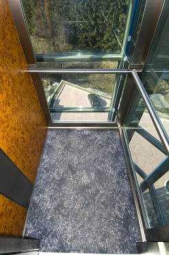 Lucrari, proiecte Ascensor panoramic - Hotel PREDEAL ELMAS - Poza 3