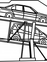 Sistem mecanic de parcare auto 2.0-185/180 Standard-planificare