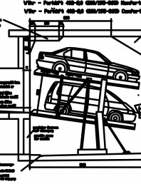 Sistem mecanic de parcare auto 2.0-200/195 Comfort