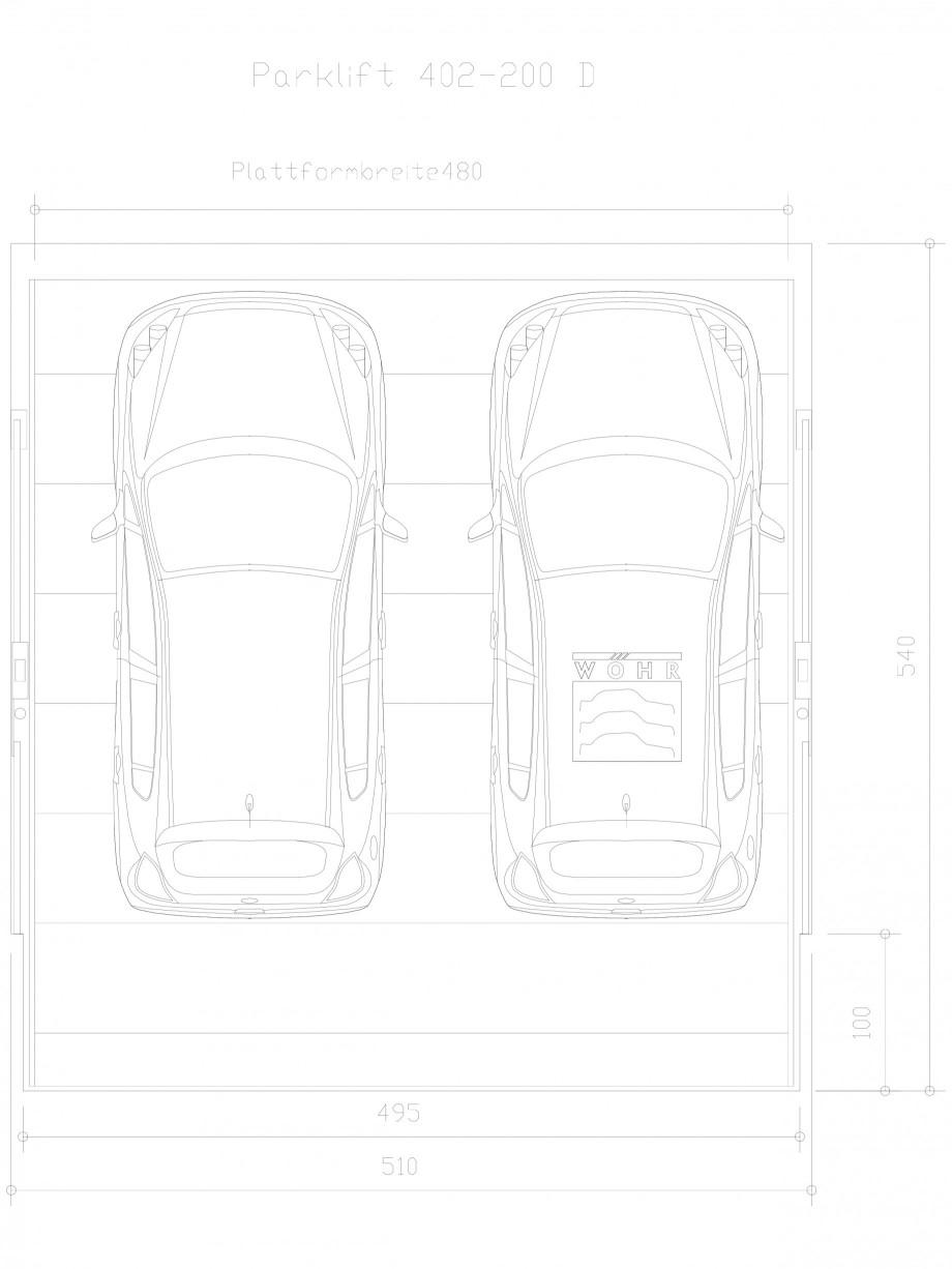 Pagina 1 - CAD-DXF Sistem mecanic de parcare auto  200 D-480 WÖHR Detaliu de produs PARKLIFT...