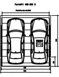 Sistem mecanic de parcare auto 200 D-500