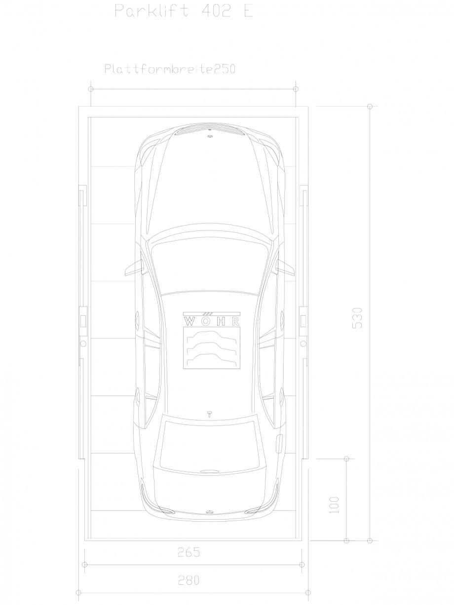 Pagina 1 - CAD-DXF Sistem mecanic de parcare auto E-250 WÖHR Detaliu de produs PARKLIFT 402