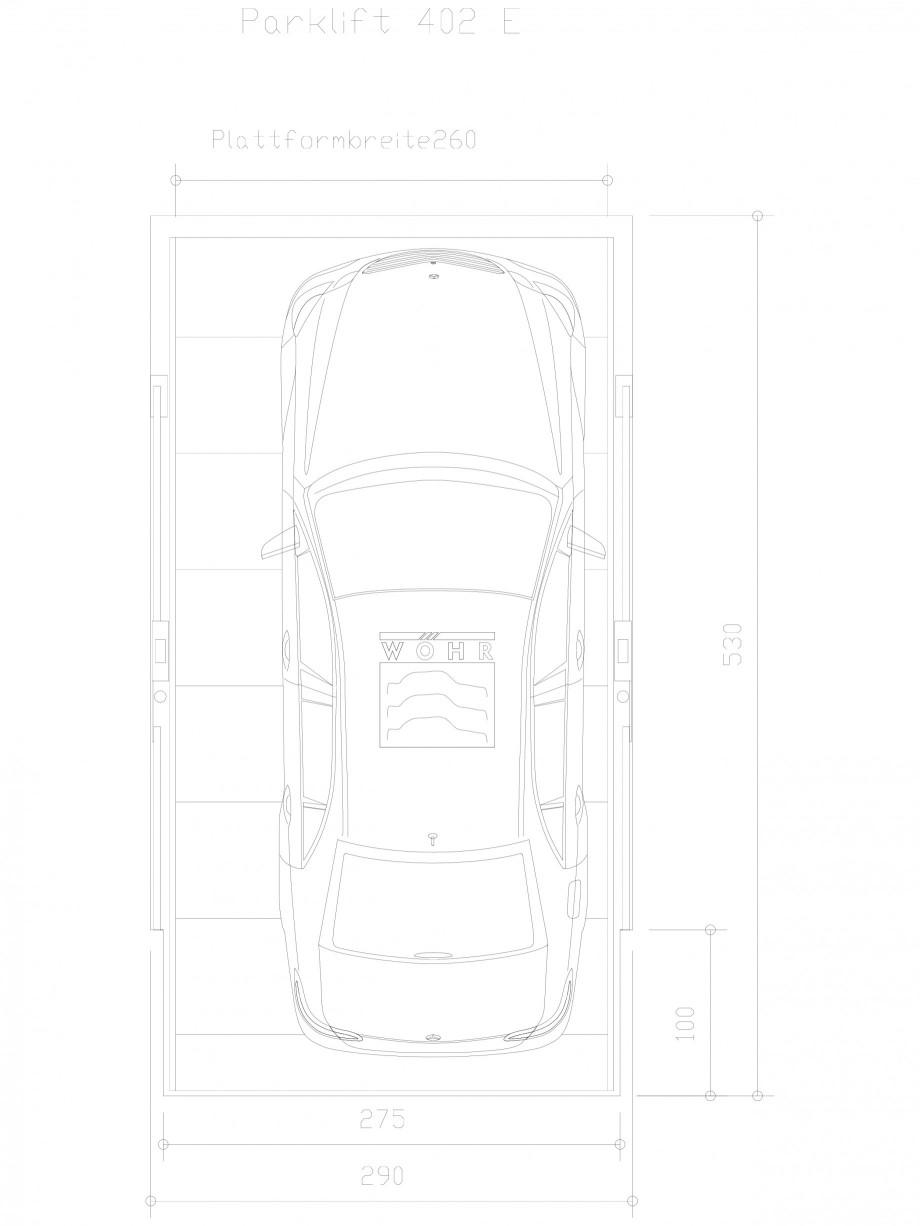 Pagina 1 - CAD-DXF Sistem mecanic de parcare auto E-260 WÖHR Detaliu de produs PARKLIFT 402