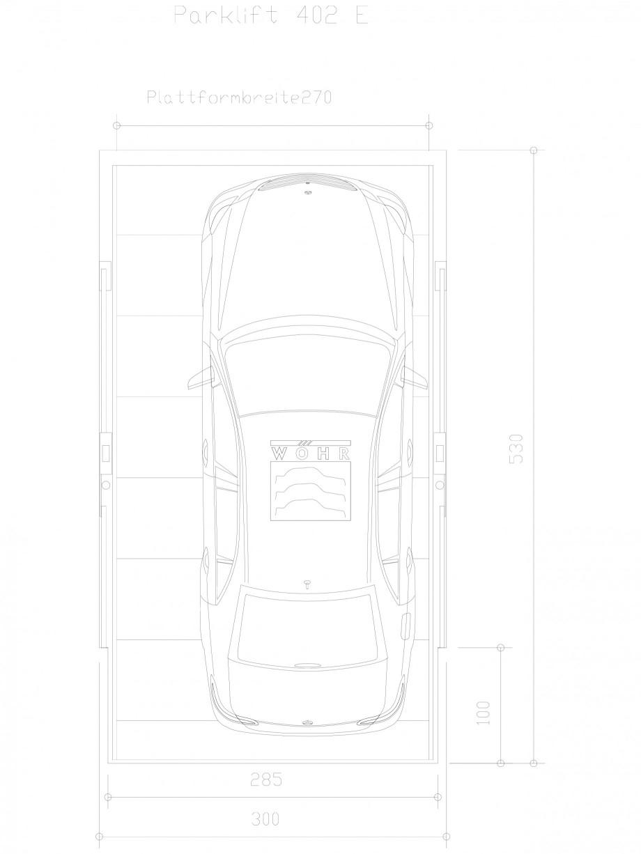 Pagina 1 - CAD-DXF Sistem mecanic de parcare auto E-270 WÖHR Detaliu de produs PARKLIFT 402