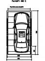 Sistem mecanic de parcare auto E-270