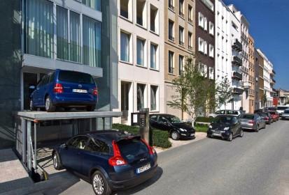 Exemplificarea modului de functionare a sistemului de parcare PARKLIFT 461/462/463 Sisteme de parcare