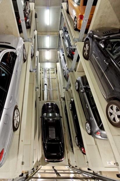 Sistem de parcare pe 2 coloane PARKSAFE 582 Sistem de parcare - Luxemburg
