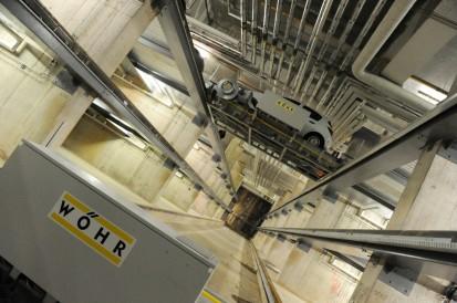 Exemplu de utilizare a sistemului de parcare Parcaj de 339 locuri cu noul sistem Multiparker 760