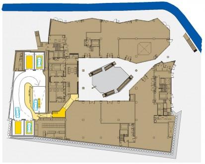 Planul parcarii - detalii Parcaj de 339 locuri cu noul sistem Multiparker 760 - Cubul din