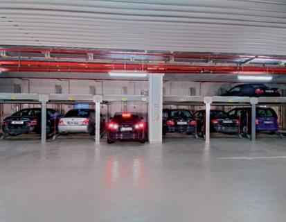 Prezentarea sistemului de parcare cu 2 niveluri COMBILIFT 551 Sisteme de parcare - Salzufer - Berlin
