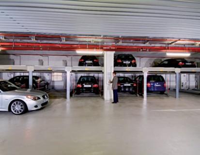 Sistem de parcare cu 2 niveluri fara put COMBILIFT 551 Sisteme de parcare - Salzufer -