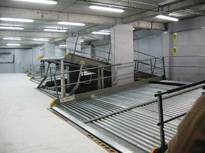 Prezentarea platformelor inclinate PARKLIFT 340 Sisteme de parcare - Imobil birouri - Bucuresti