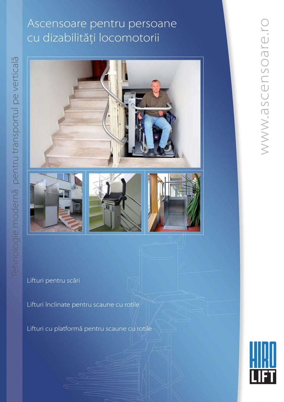 Pagina 1 - Lifturi (servoscara) si platforme pentru persoane cu dizabilitati HIRO LIFT HIRO 160,...