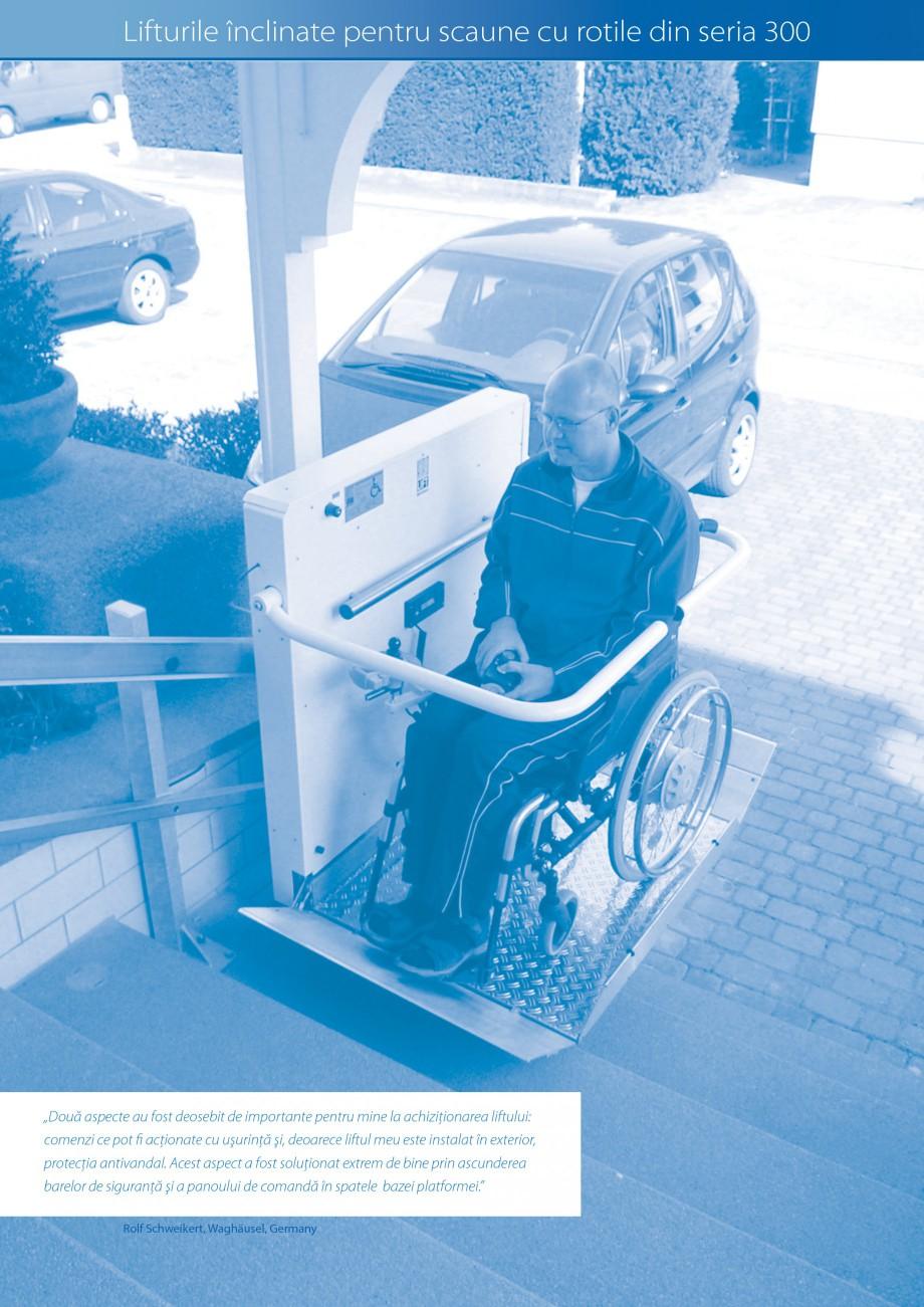 Pagina 6 - Lifturi (servoscara) si platforme pentru persoane cu dizabilitati HIRO LIFT HIRO 160,...